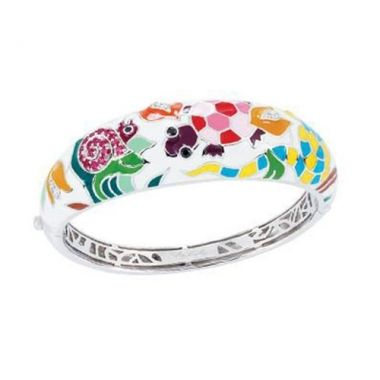 Belle Etoile Galapagos White Bangle
