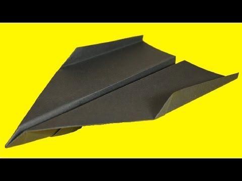 comment faire un avion en papier qui vole tr s bien youtube diy d co noel pinterest. Black Bedroom Furniture Sets. Home Design Ideas