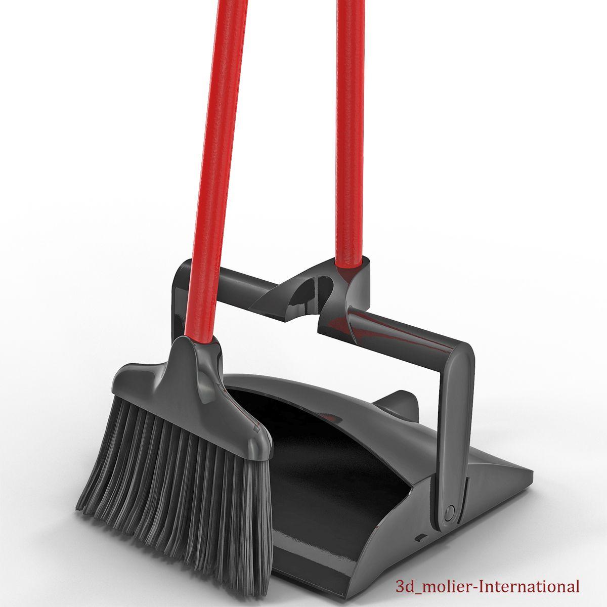 Libman Broom and Dustpan Set 3d model http://www.turbosquid.com/3d-models/libman-broom-dustpan-set-3d-model/900475?referral=3d_molier-International