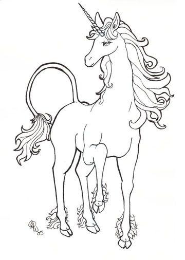 Dibujos e imagenes de unicornios para colorear a lapiz | COLOR ...