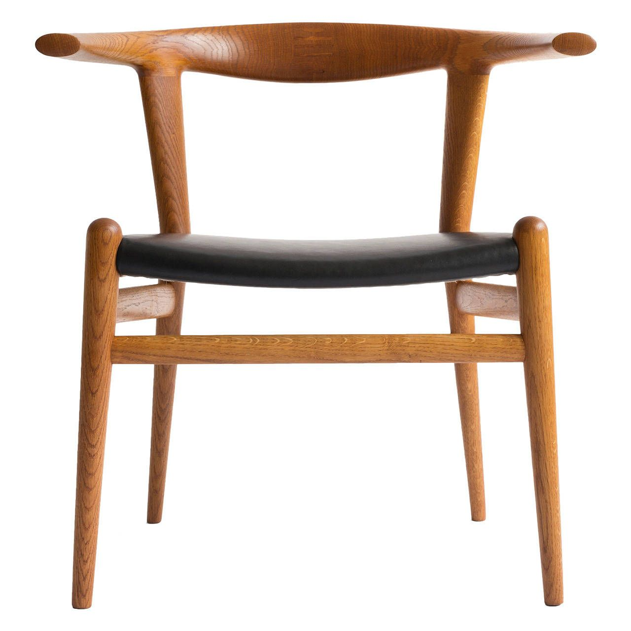 Hans J Wegner Bull Chair From A Unique Collection Of Antique