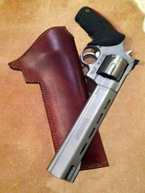 Holster for Taurus Raging Bull 44 Magnum  Holster was made
