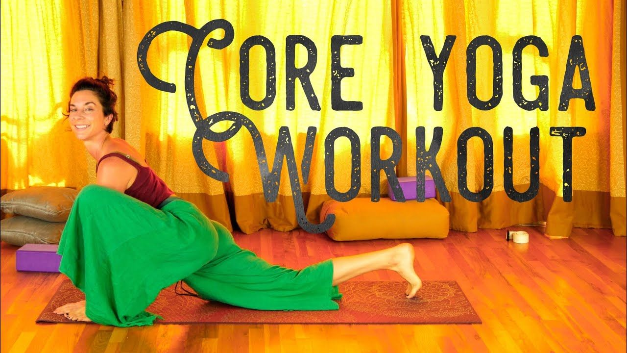 Ab and Core Yoga Workout - 15 min Beginners Core Strength Sequence #15minworkout