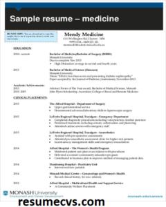 100 Medical Student Cv Academic Cv Templates Templates Physician Cv Templates Free Download Student Resume Template Student Resume Student Cv Examples