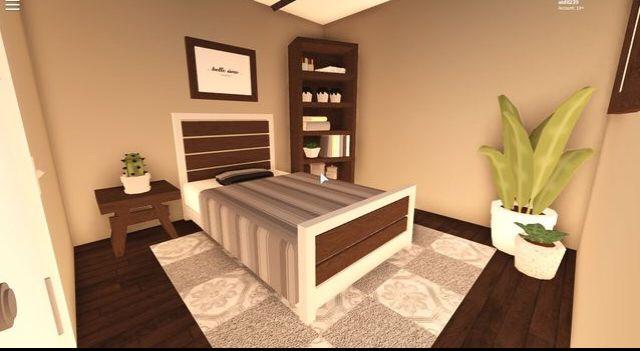 Master Bedroom Bloxburg Idea In 2020 Tiny House Layout Aesthetic Bedroom Bedroom House Plans