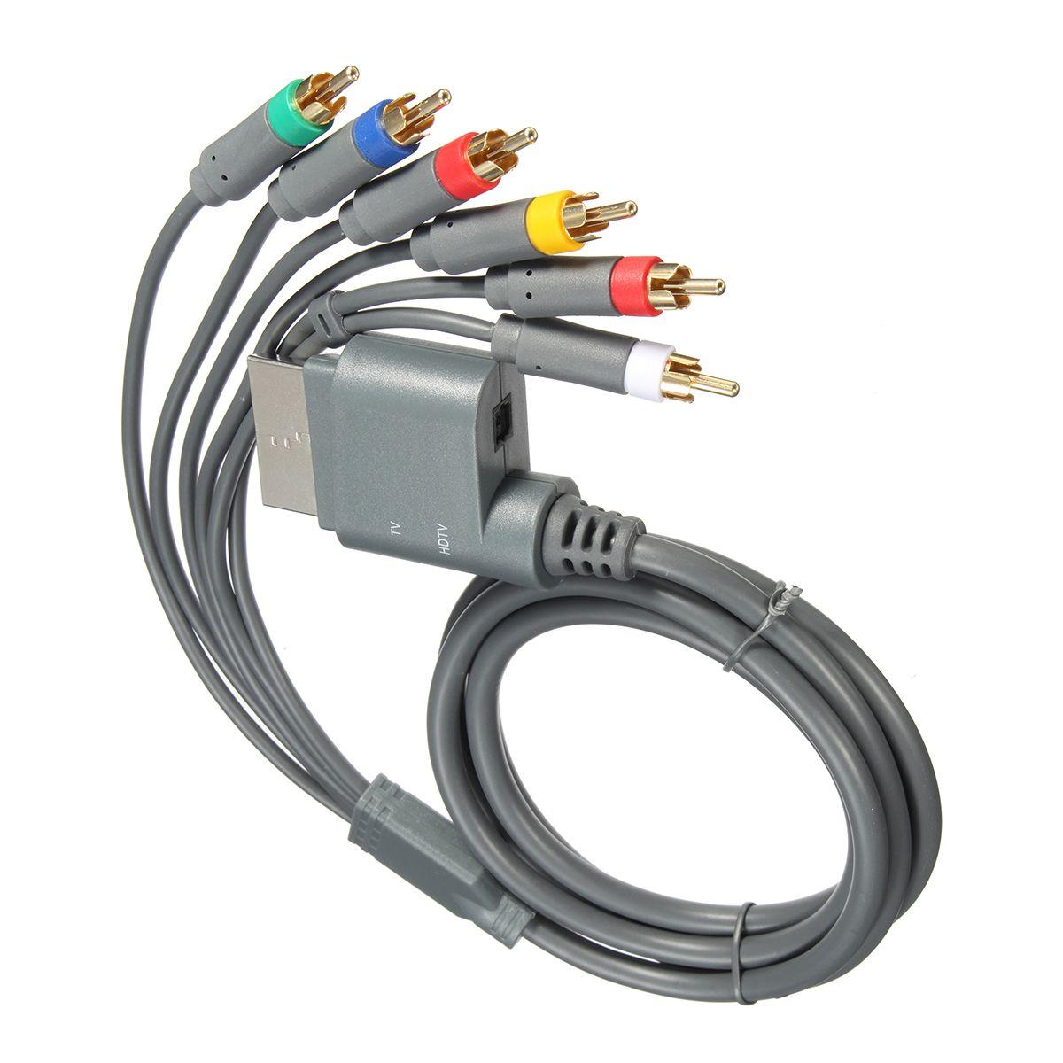1.8m HDTV Componente Audio Video AV Cable de alta definición 6 en 1 ...