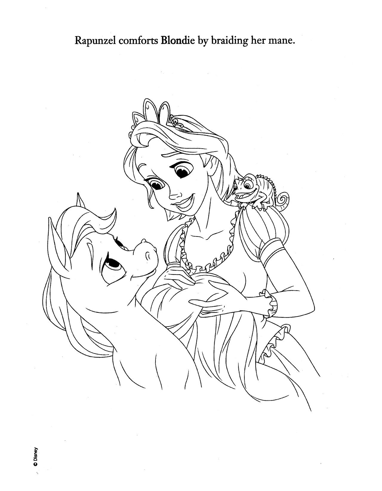 Disney princess palace pets coloring pages - Disney Princess Palace Pets Sweet And Spunky Blondie S Story 10 13