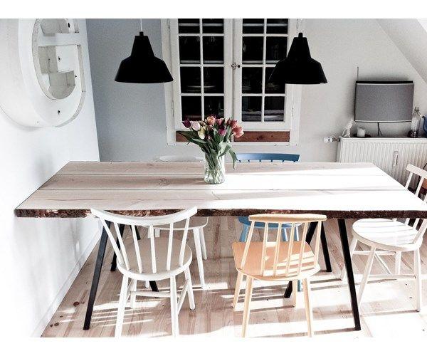 hay bordben HAY bordben og FDB stole | DIY spisebord in 2018 | Pinterest  hay bordben