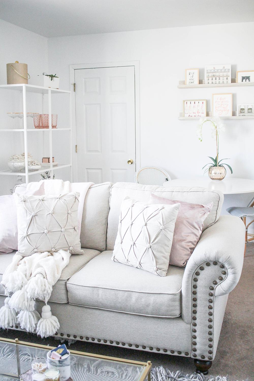 Corliss Loveseat Shabby Chic Room Shabby Chic Living Room Chic Living Room Design