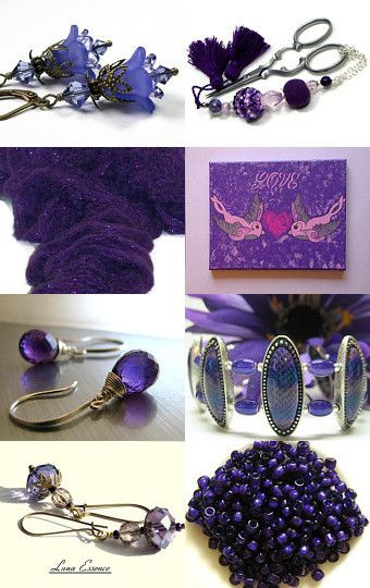 The Color Purple by Debbie and John--Pinned with TreasuryPin.com