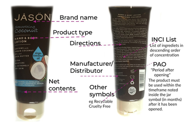 How to Read a Cosmetics Label? Crystal Code Blog