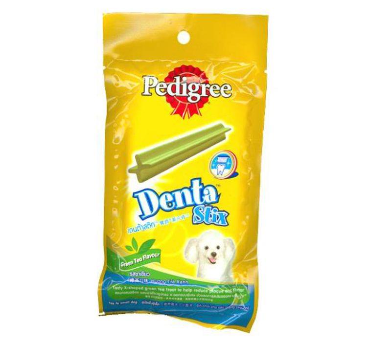 Pedigree Dog Treat Denta Stix Green Tea Flavour Toy Buy Online Dog