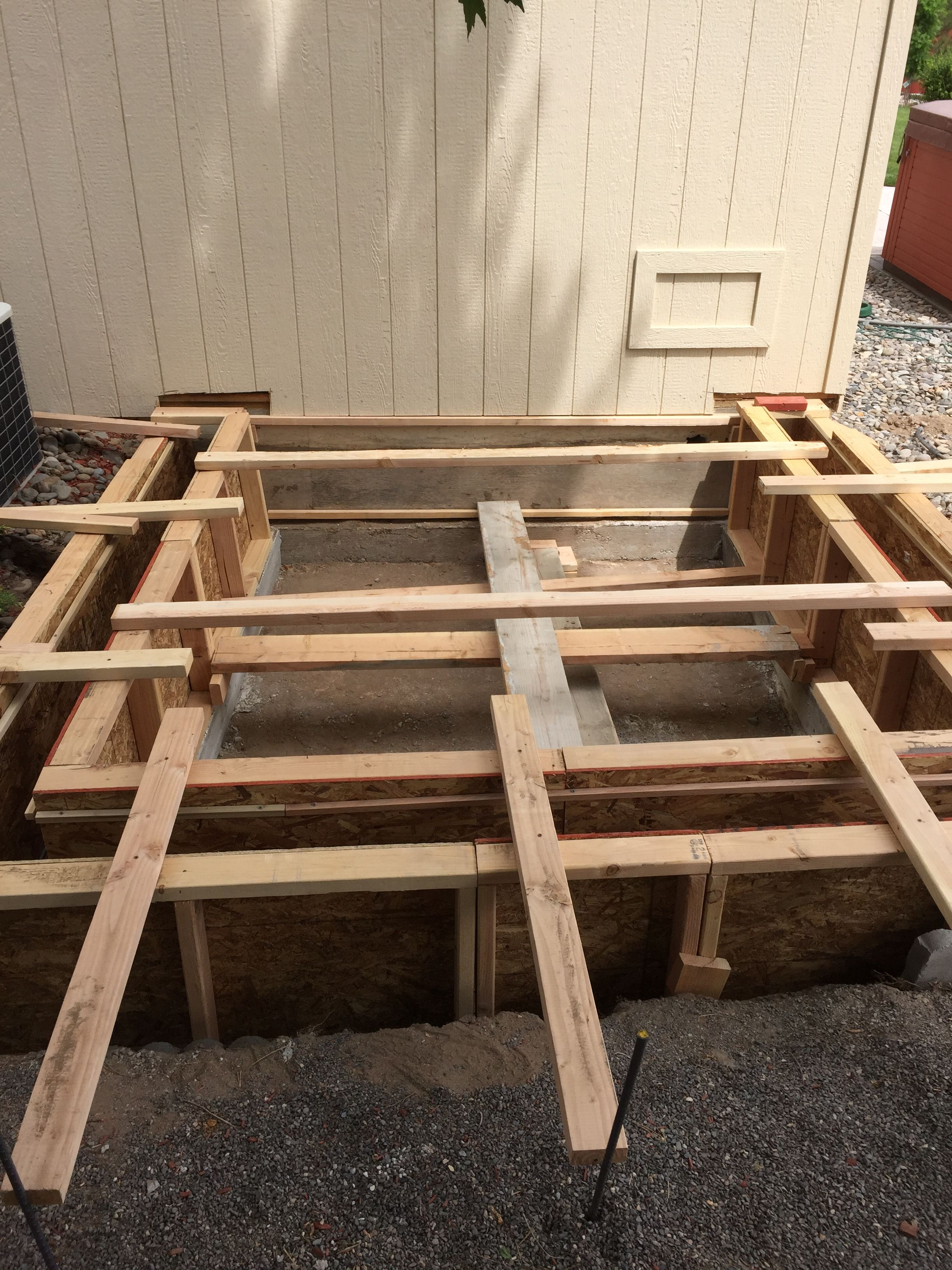 Rebar And Forms For Stem Wall For House Addition Minden Nv Home Additions Remodel House
