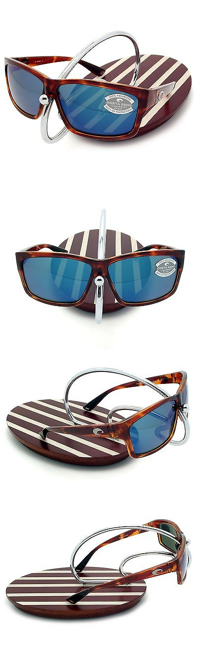 d22f8fcb20 Sunglasses 151543  New Costa Del Mar Cut Honey Tortoise 580 Blue Mirror  Glass 580G -