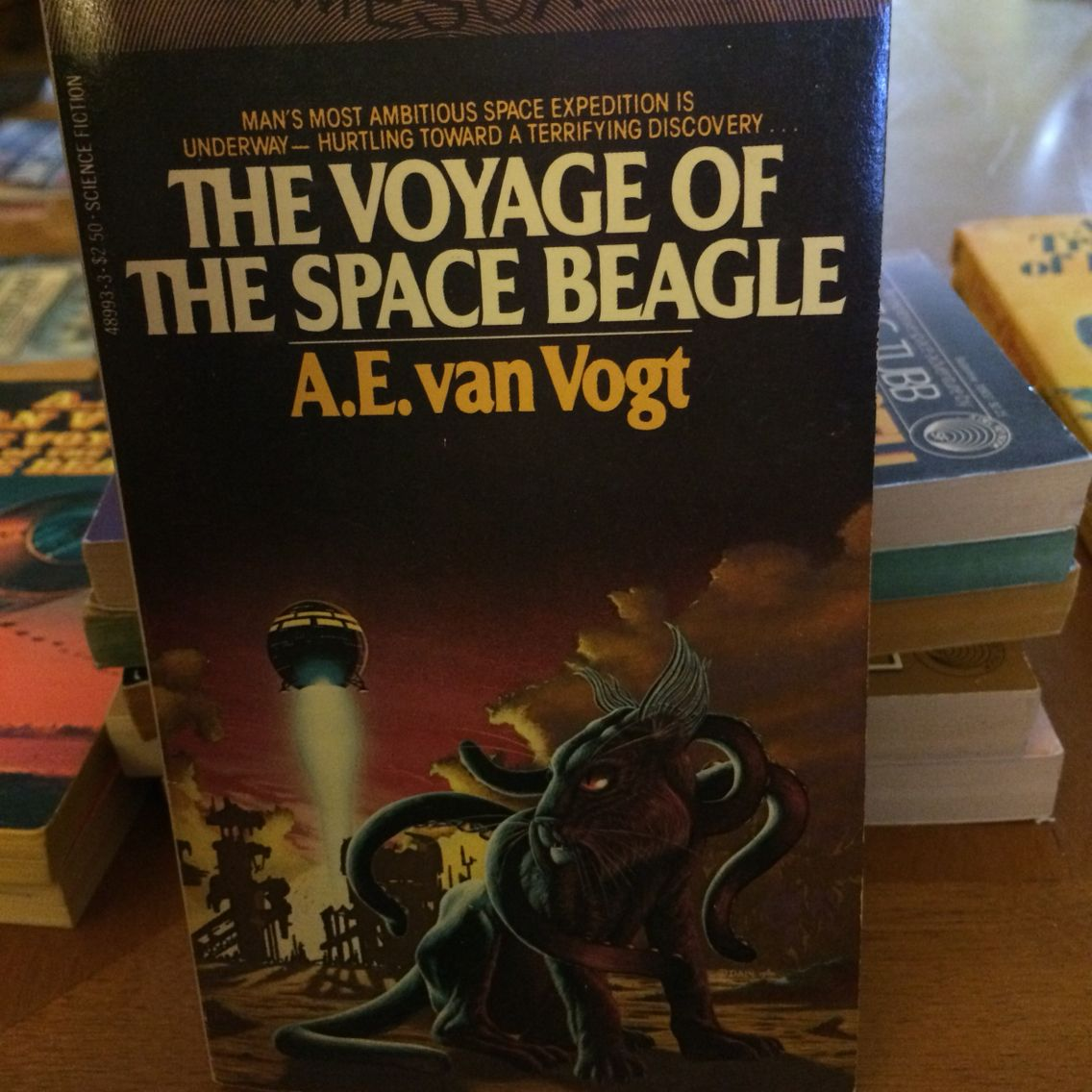 The Voyage Of The Space Beagle By A E Van Vogt Sci Fi Books