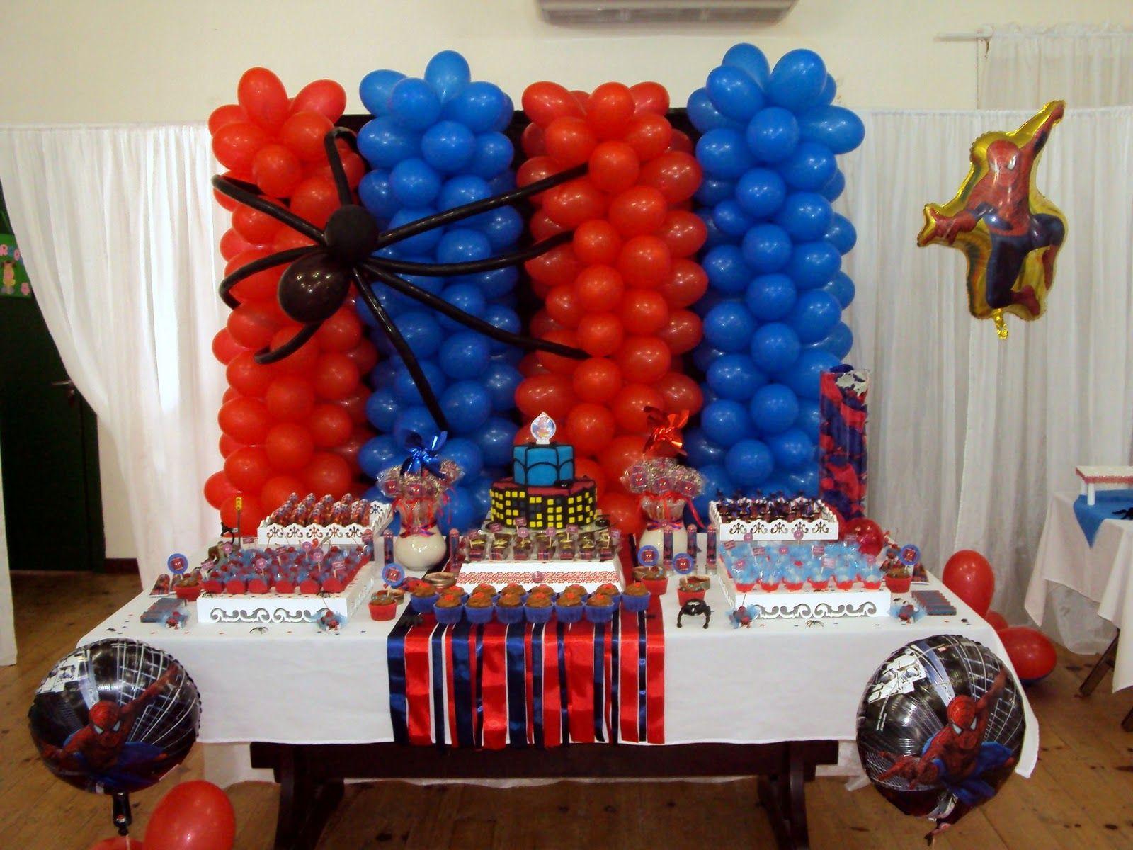 decoraç u00e3o de painel de festa infantil do homem aranha Pesquisa Google festa