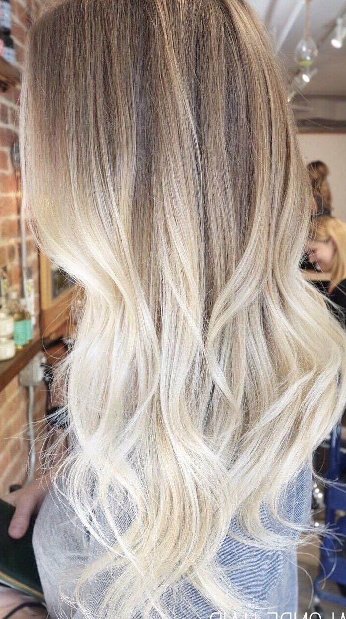 Photo of 48 Beautiful Platinum Blonde Balayages for Summer 2019 – Latest Hair Colors