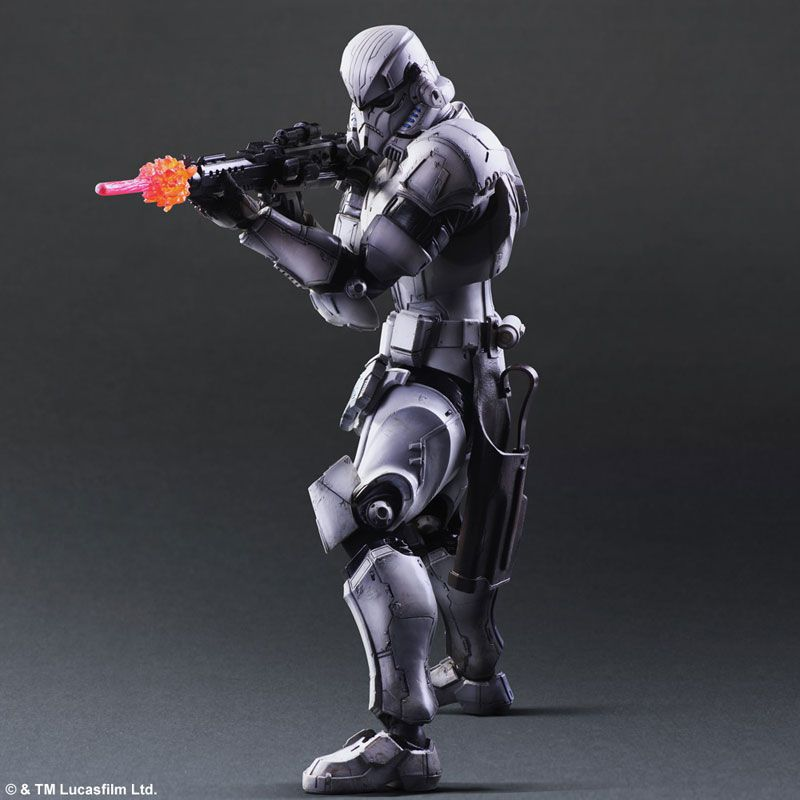 "11/"" Square Enix PlayArts Kai Star Wars Stormtrooper Action Figure no box"
