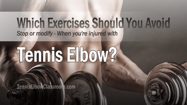 29+ What upper body exercises can i do with tennis elbow ideas