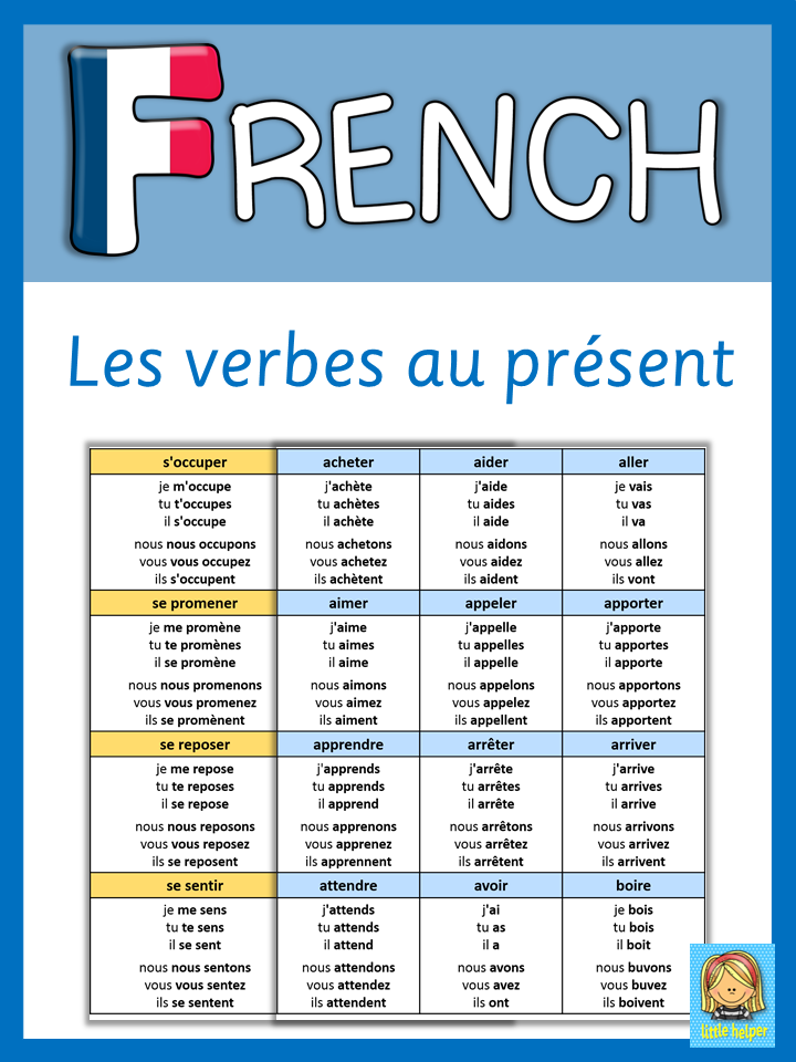 This Set Has 158 Regular Irregular And Reflexive French Verbs Conjugated Au Present All French Verbs Come In A French Flashcards Learn French French Lessons