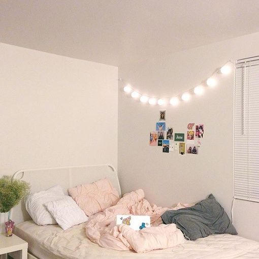 Pinterest Jociiiiiiiiiiii Home Decor Diy Decoration Bedroom Comfy Plants Tumblr Bedr Simple Bedroom Aesthetic Bedroom Aesthetic Room Decor