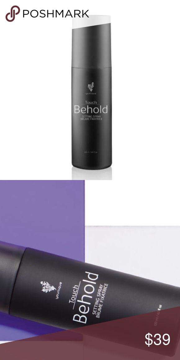 Touch Behold Setting Spray Lightweight Non Sticky