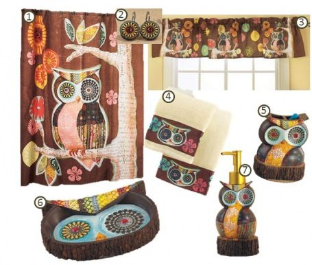 Owl Bathroom Decor Is A Good Choice For Beautifying Your It Not Difficult You To Create Only Need Little Time And