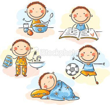 rutinas para niños | Samavia Marwat