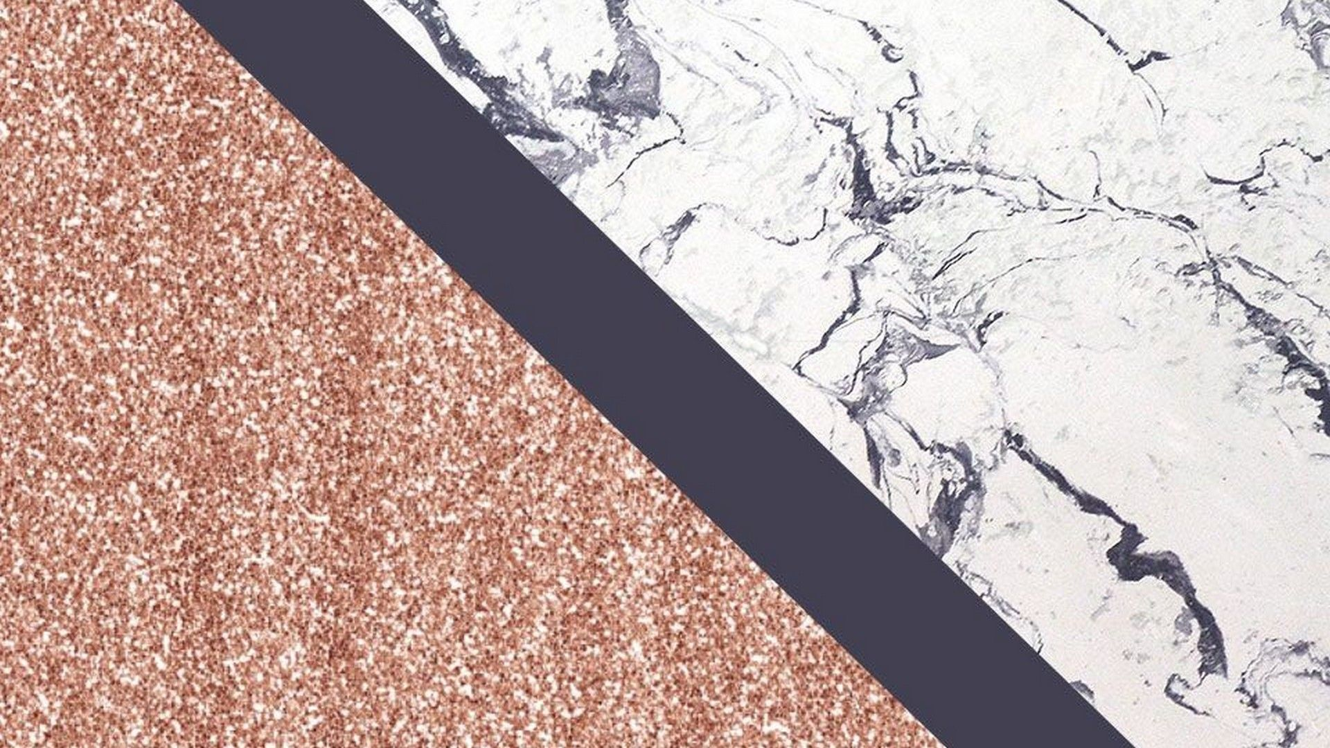 Rose Gold Marble Desktop Backgrounds HD
