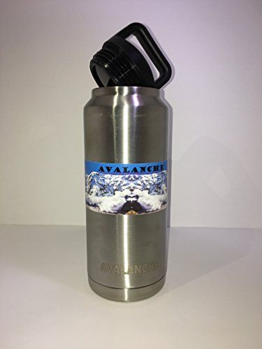 5842275fe8 Avalanche 36 ozDouble Wall Insulated Vacuum Sealed Stainless Steal Thermos  ColdHot Sport Water Bottle >>> Read more reviews of the product by visiting  the ...