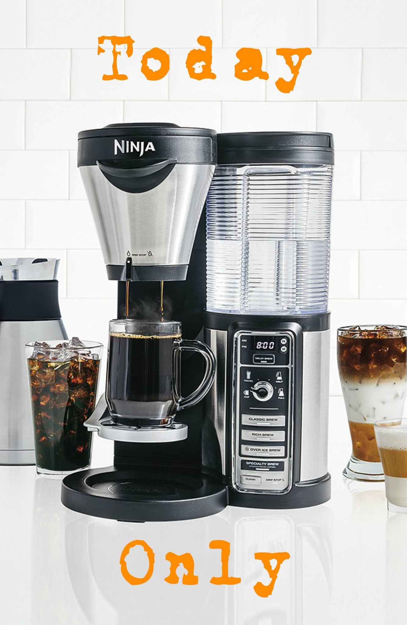 Ninja coffee bar brewer thermal carafe only 9999