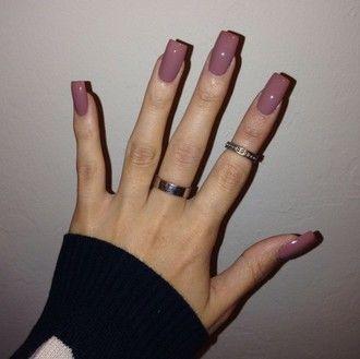 Nail Polish Pink Ariana Grande Light Acrylic Nails