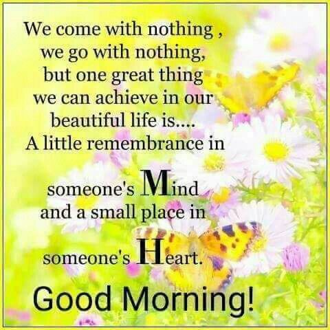 Yaa That is Part Of Life Good Morning My Dear friends ...