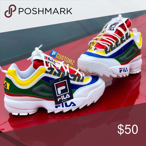 Filas Customs brand new Fila Shoes