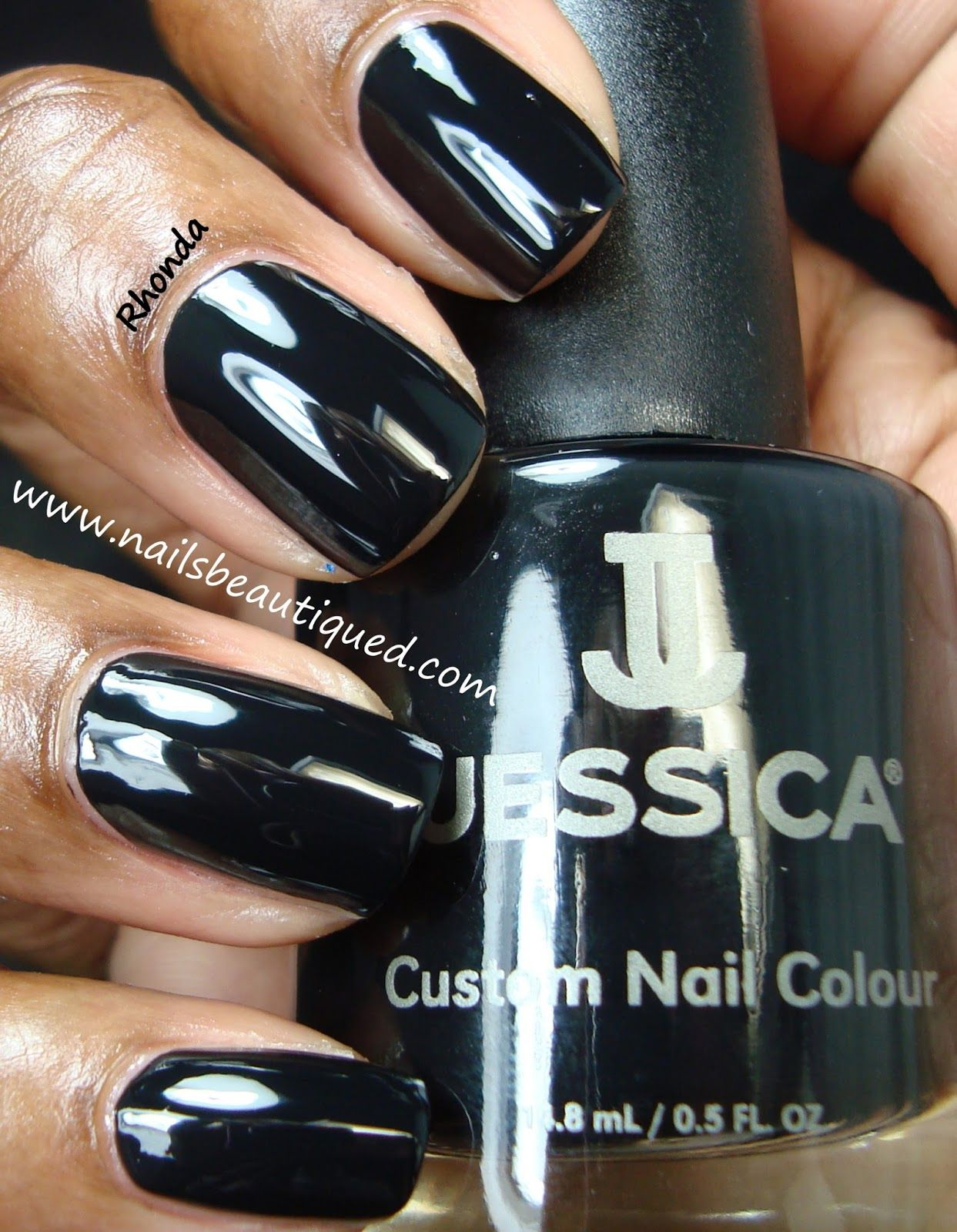 Jessica Fall 2013 A Night At the Opera Collection, Velvet & Pearls | Nails Beautiqued