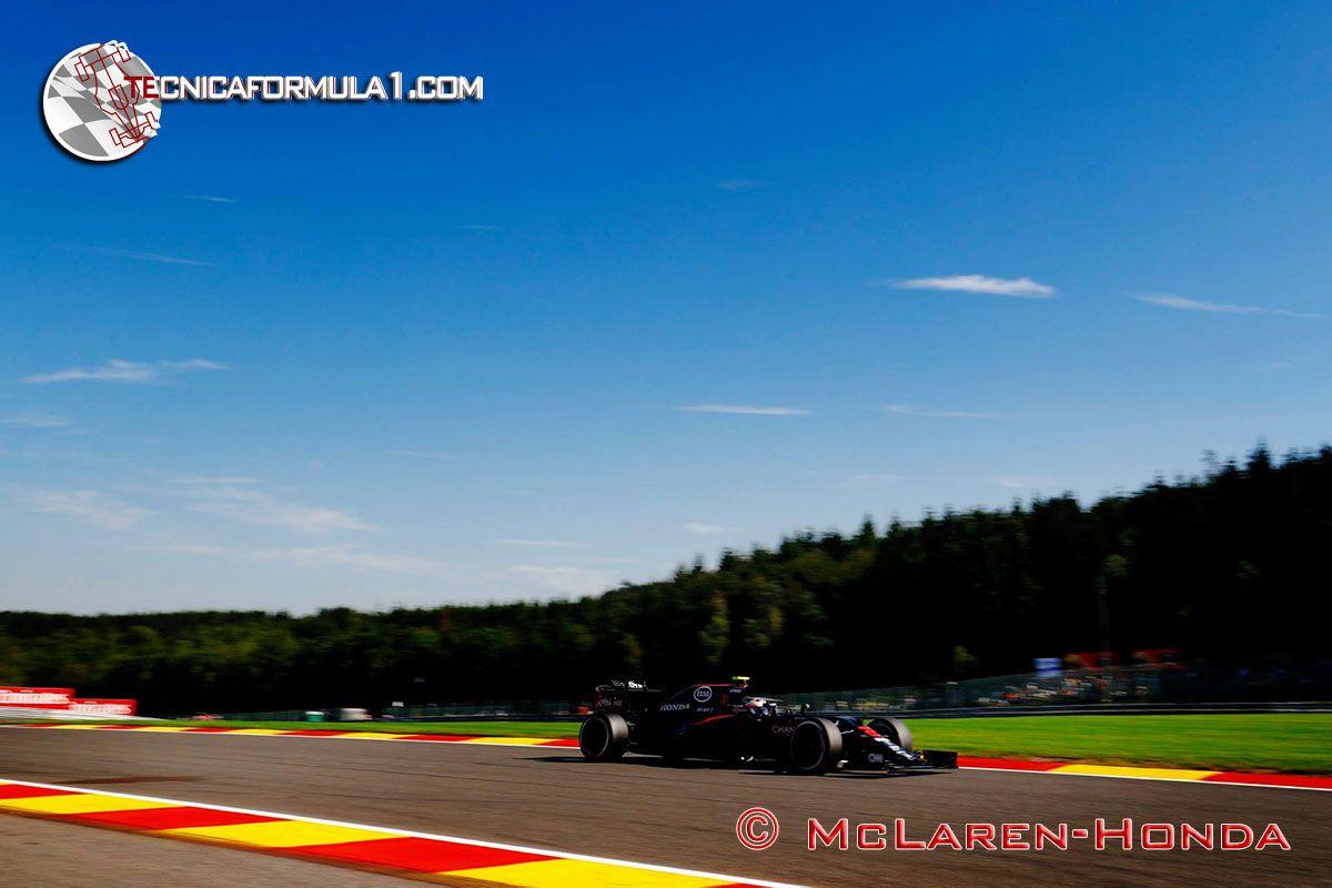 """Alonso: """"No es ideal empezar el fin de semana con problemas, pero mejor ahora que en carrera""""  #F1 #BelgianGP"""