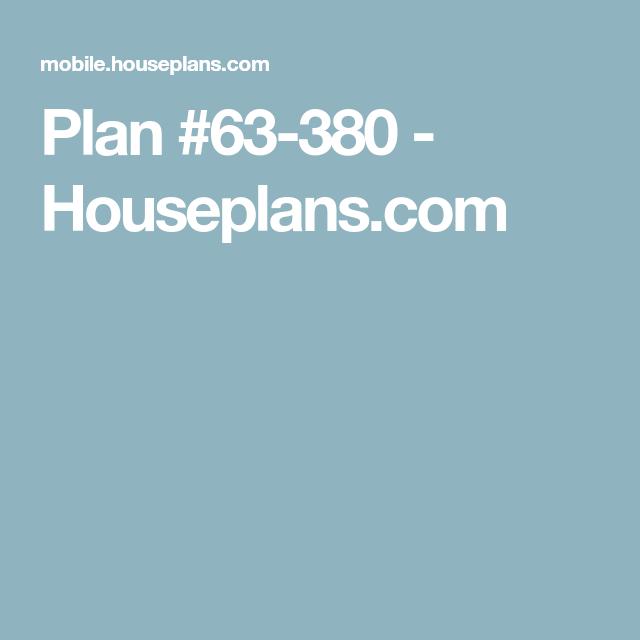 Craftsman Style House Plan 3 Beds 3 Baths 2296 Sq Ft Plan 63 380 How To Plan Craftsman Style House Plans Floor Plan Design