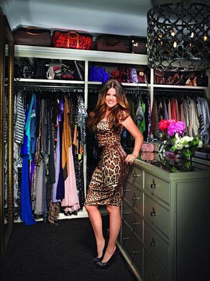 Khloe Kardashians -closet-