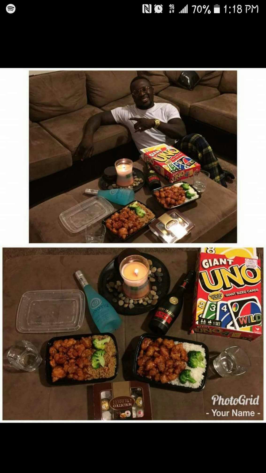 Pin by Nessalové on BAE | Cute date ideas, Romantic date ... Surprise Romantic Night At Home