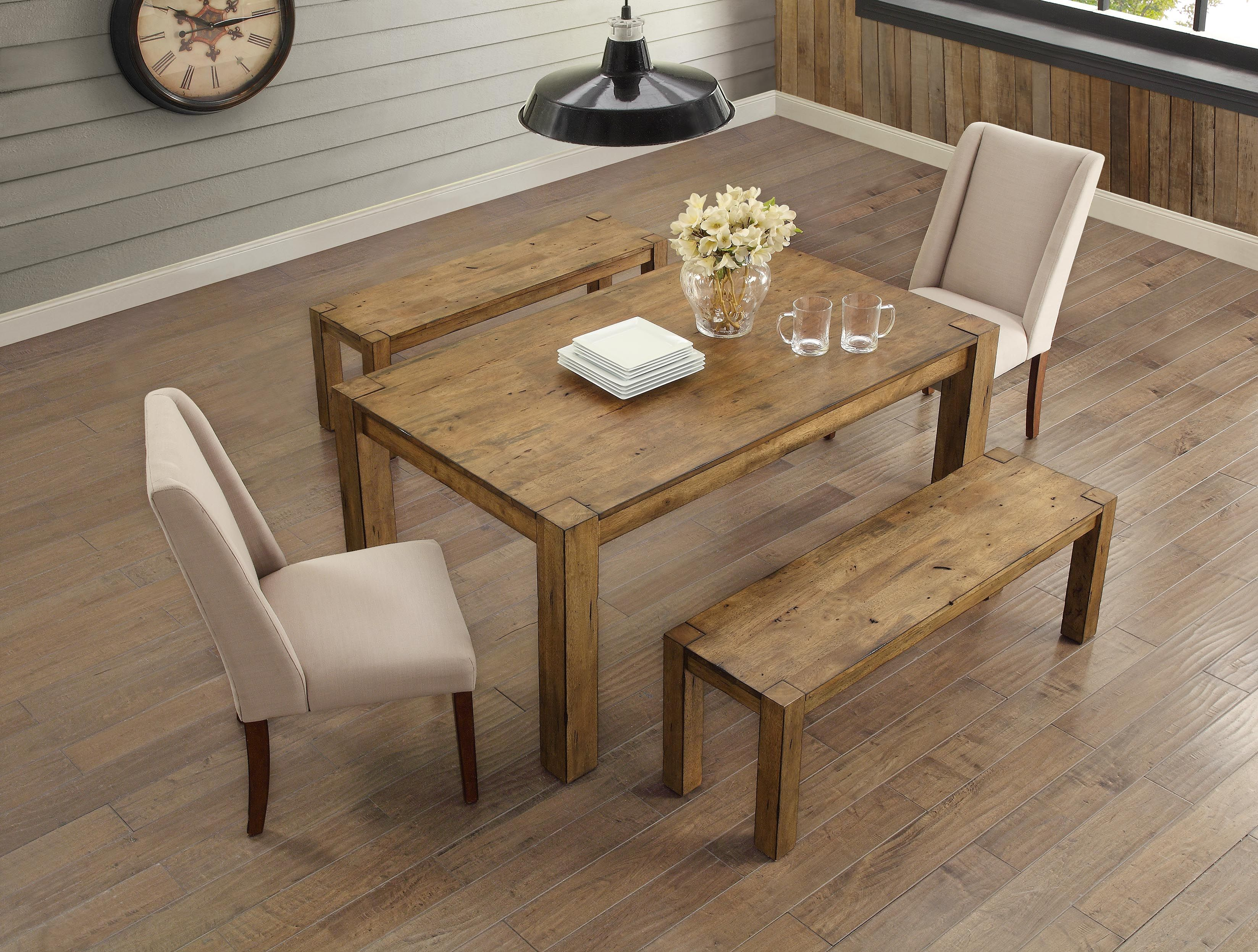 Home Wood Dining Room Table Dining Table Rustic