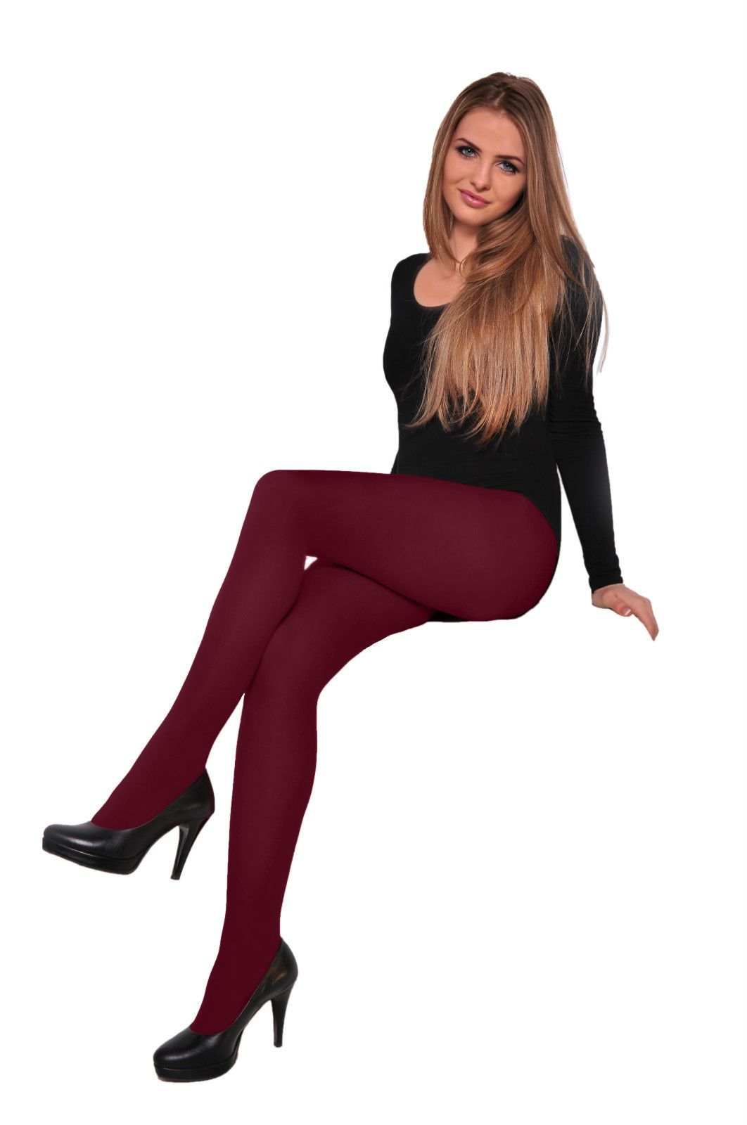 Low Price Classic LYCRA Tights Range Colours Hosiery 40 Denier Pantyhose S XL