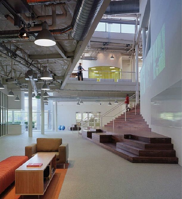 Google Main Office: Luxury Google Headquarters By Clive Wilkinson Architects