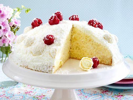 Die Raffaello Torte Sieht Toll Aus Schmeckt Einfach Himmlisch Und