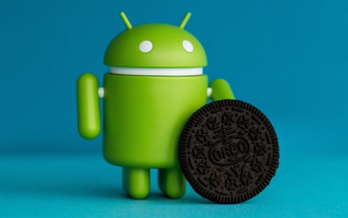 Download wallpapers Android 8, Android Oreo, new version