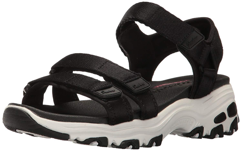 Skechers Cali Women's D'Lites Fresh Catch Wedge Sandal