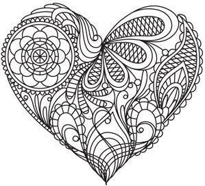 Раскраски ко дню Святого Валентина (14 февраля) в день ...