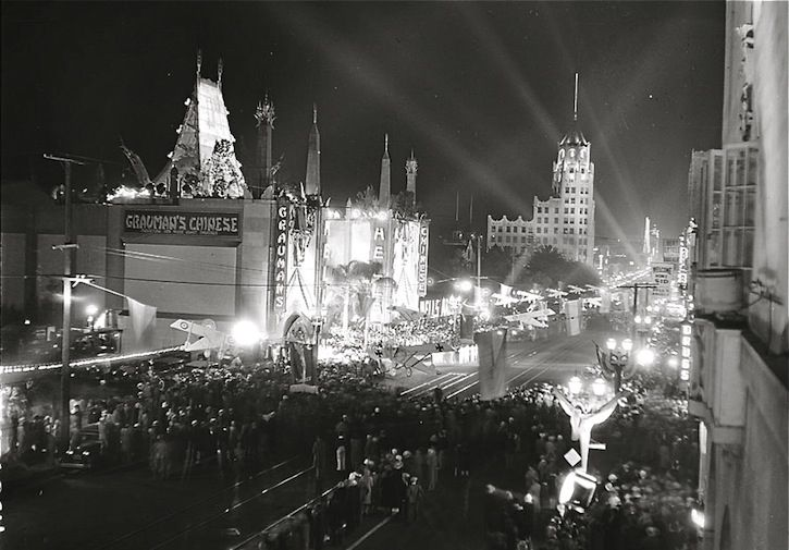 1930 Hollywood Premiere Movie Premiere Hollywood Premiere