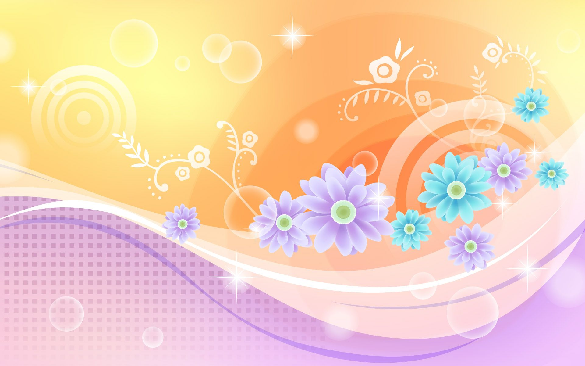 Abstract Flowers | 80 Abstract Flowers Design Wallpapers Photo 77 of ...