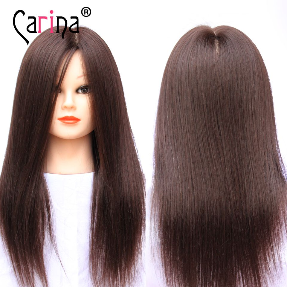 100 Human Hair Mannequin Head Can Curl Brown Hairdressing Dummy Doll Wig Head Professional Hair Sty Hair Mannequin Professional Hairstyles Natural Hair Styles