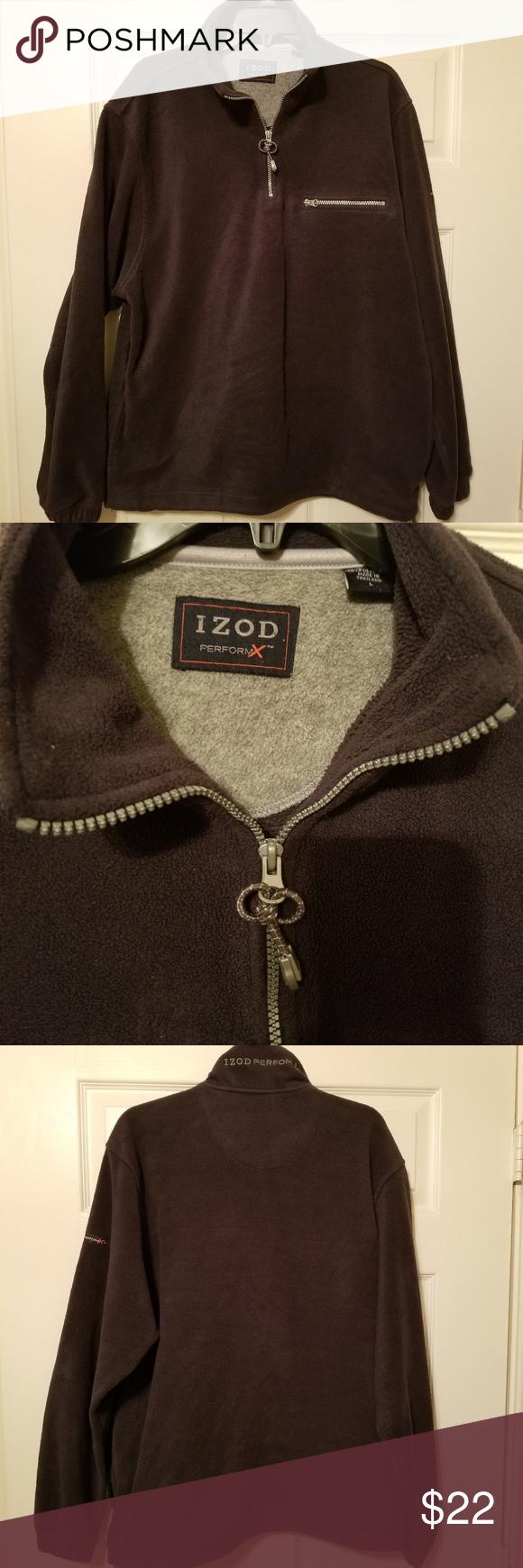 Izod Performx Fleece Pullover Size L Izod Performx Fleece Pullover Size L Izod Jackets Coats Performance Jackets Fleece Pullover Clothes Design Pullover [ 1740 x 580 Pixel ]